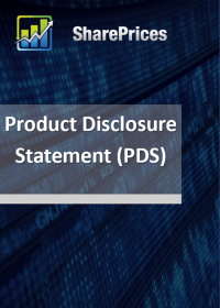 Product Discloser Statement